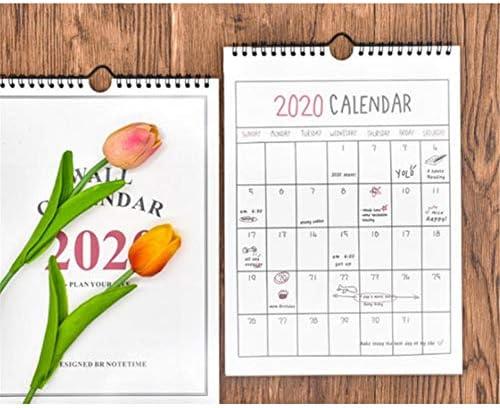 Fllyingu Wandkalender 2019-2020, Zuhause Planer Kalender Schedule Organizer, Freistehende Monatliche Desktop-Kalender Für Schuljahr Familienplaner