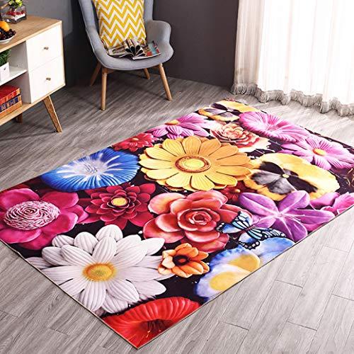 3D Printed Hallway Mats Floor Carpets Bedroom Parlor Tea Table Rugs Anti-Slip Bathroom Kitchen Area Rugs