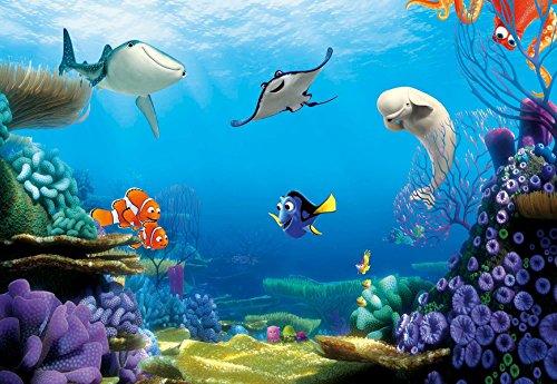 Wall Mural Photo Wallpaper Children FINDING DORY 121x84 Disney Fish Finding Nemo Kids
