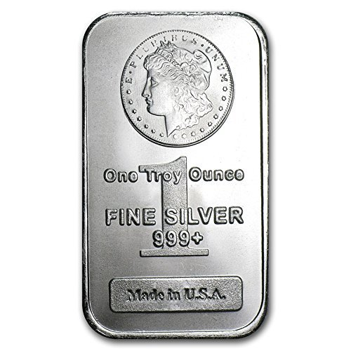NEW (Sealed in Plastic) Morgan Design 1 oz Silver Bar