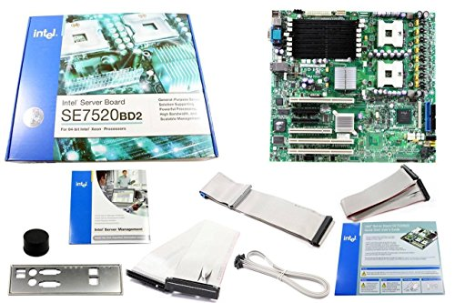 (Intel Dual Xeon Socket 604 DDR2 Server Motherboard SE7520BD2)