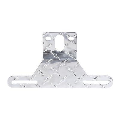 CZC AUTO Aluminum Trailer License Plate Light Bracket: Automotive