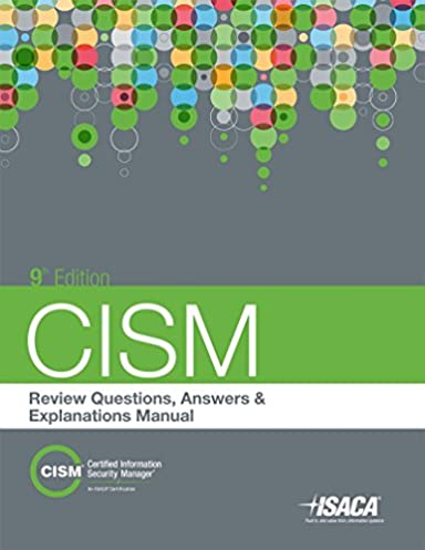 amazon com cism review questions answers explanations 9th rh amazon com