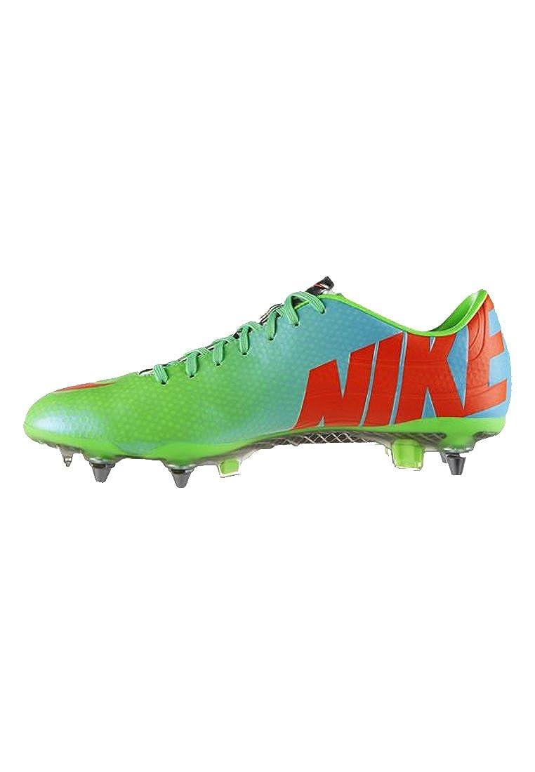 buy online e61aa a6c4e Amazon.com | Nike Mercurial Vapor IX SG Pro - Neo Lime/Metall | Soccer