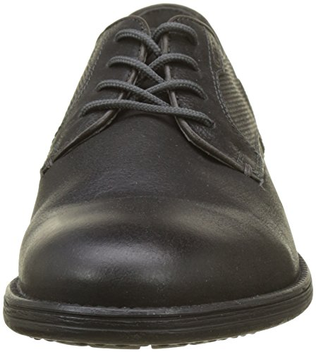 Geox Men's U Jaylon E Derbys Grey (Black/Dk Grey) GvC2sUoj3E