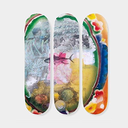 ご覧くださいメロディー用量ロバート?ラウシェンバーグ:スケートボード Tryptch Sri Lanka VI