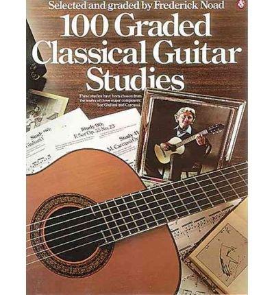 Top 10 Best 100 graded classical guitar studies