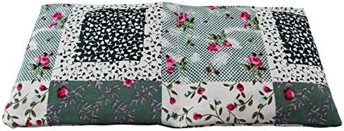 Heating Pads Microwave [ Cherry Pit ], Heat Pack Wrap Herbal Pack Hot Cold Compress, Natural Therapeutic Pain Relief Relaxation Heat Therapy for Neck, Shoulder, 12×6 in (Flower Pattern)