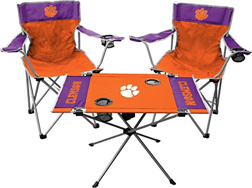 Jarden NCAA Clemson Tigers Tailgate Kit, Team Color, One Size from Jarden