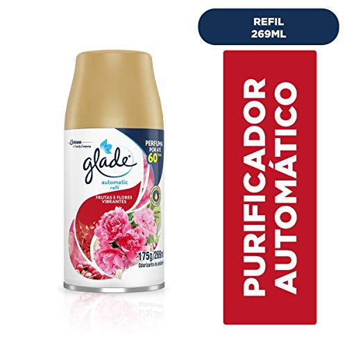 Glade Automatic Refil Frutas e Flores Vibrantes 269Ml, Glade