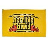 NFL Pittsburgh Steelers Halloween Terrible Towel, Gold