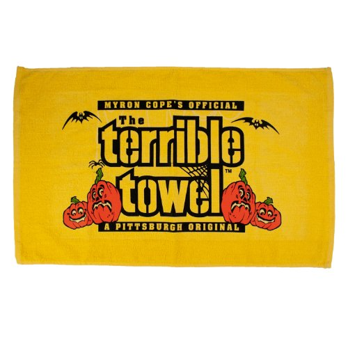 NFL Pittsburgh Steelers Halloween Terrible Towel, Gold ()
