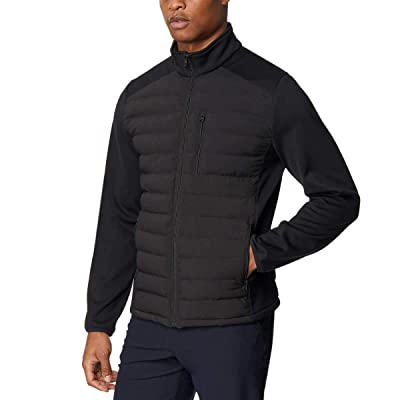 32 DEGREES Men's Mixed Media Jacket at Amazon Men's Clothing store