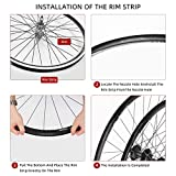 GLIDESTORE 4 Pack Bicycle Rim Strip Rim Tape for