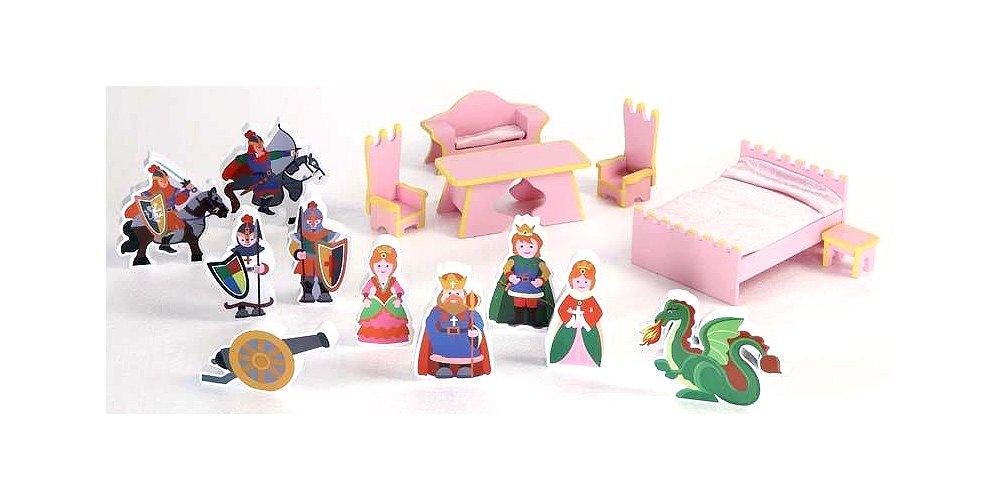 Tu satisfacción es nuestro objetivo Badger Basket Juego de accesorios para castillo casa de muñecas muñecas muñecas (16 piezas)  ventas calientes