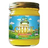 Organic Ghee Butter by Tropical Green Organics, 8 Ounce, Pasture Raised, Non-GMO, Casein and Lactose Free, Certified Organic