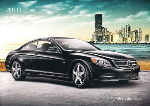 L-Class CL550 CL600 18-page Sales Brochure Catalog - Coupe ()