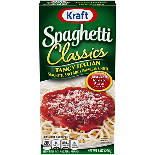 Kraft Tangy Italian Spaghetti Sauce (8 oz Boxes, Pack of 12)