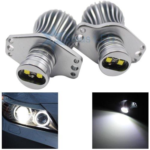 [해외]맞는 E90 E91 크리 20w 높은 전원 오류 무료 BMW 엔젤 아이 헤일로 라이트 업그레이드 6000k 호환 및 BMW에 적합 / Fits E90 E91 Cree 20w High Power Error Free BMW Angel Eye Halo Light Upgrade 6000k - Compatible and Fits For BMW