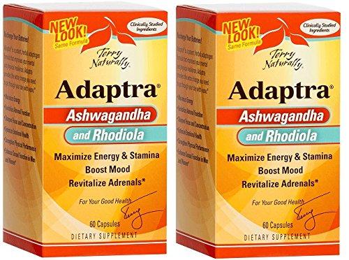 Europharma/Terry Naturally Adaptra 60 Capsules -2 Pack