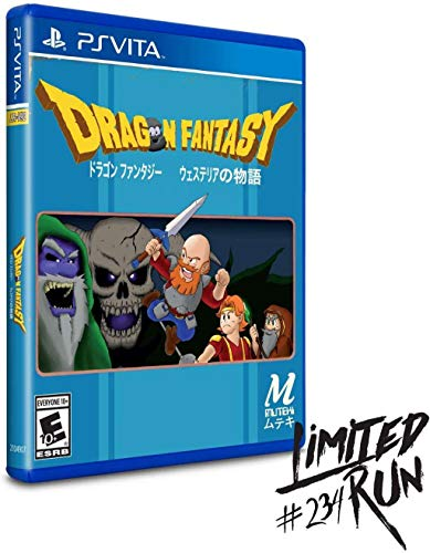 Dragon Fantasy (Limited Run #234) - PlayStation Vita