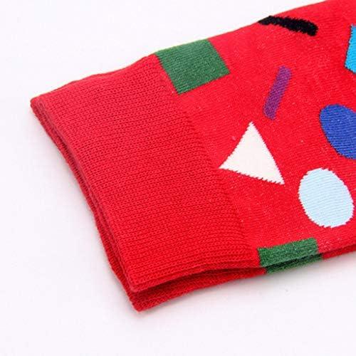 1組の女性の綿のソックスは女性の冬のソックスを印刷します
