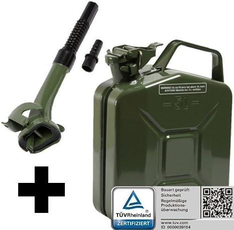 Ausgießer 20 L Kraftstoffkanister Reserve Tank Benzin Diesel grün rot schwarz