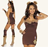 Not-So Cowardly Lion Sexy Holiday Party Costume