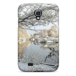 DaMMeke Case Cover Protector Specially Made For Galaxy S4 Park In Winter