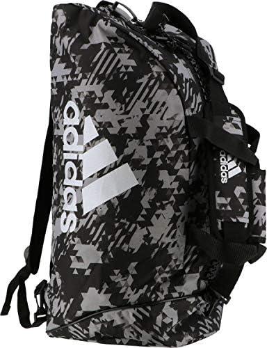 アディダス コンバットスポーツ 2in1 Bag adiACC058 Black Camo/Silver 50L