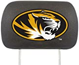 FANMATS NCAA University of Missouri Tigers Polyester Head Rest Cover