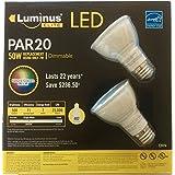 7W PAR20 DIMMABLE LED - 3000K - 2 PACK