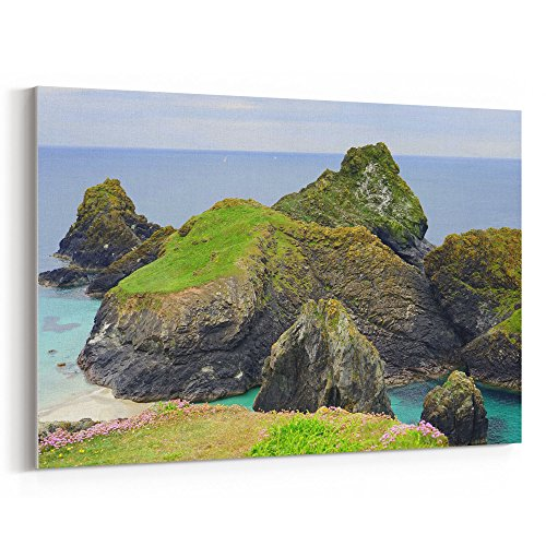 (Westlake Art - Nature Coast - 16x24 Canvas Print Wall Art - Canvas Stretched Gallery Wrap Modern Picture Photography Artwork - Ready to Hang 16x24 Inch)