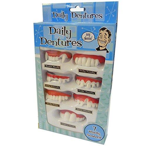Daily Dentures (Dentist Halloween Jokes)