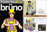 Grandma's Boy & Borat + Bruno Comedy DVD Set 3 Funny Movies