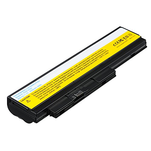 LIBOWER Notebook battery for LENOVO ThinkPad X230 X220 X220i X220s for Lenovo 0A36281 0A36282 0A36283 42T4863 42Y4864 42T4867 42T4902 42Y4940 11.1V 4400mAh Li-ion (Black)