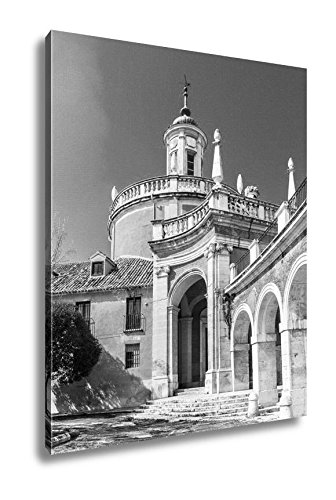 Ashley Canvas Aranjuez Spain, Wall Art Home Decor, Ready to Hang, Black/White, 20x16, AG6517801 by Ashley Canvas