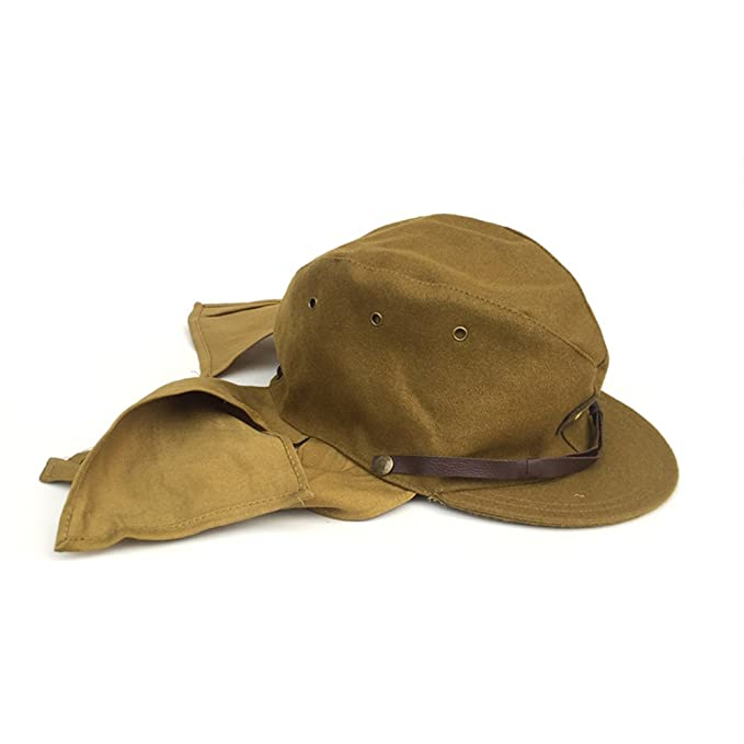 fb003c10f22 ZWJPW WWII Japanese Army Soldier Combat Hat-Japan Military Cap at Amazon  Men s Clothing store