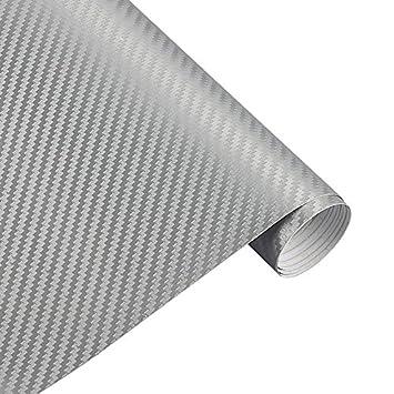 Rollo de vinilo de fibra de carbono 3D para coches 127 x 29,8 cm KDSDE -tiezhi