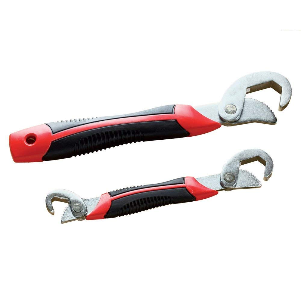 FAMI Adjustable Wrench,Adjustable Spanner, Universal Wrench,Quick Multi-function,New Snap'N Grip 9-32mm 2 packs