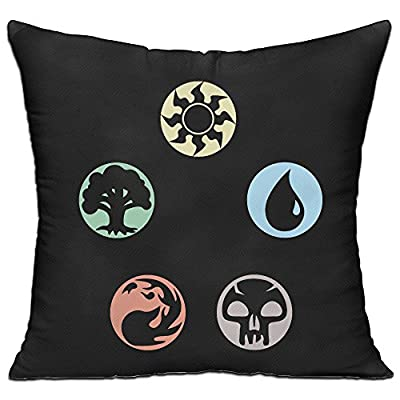 Magic The Gathering Archives 18'' X 18'' Decorative Square Throw Pillow Cover With Pillow Inner