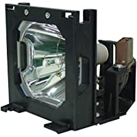 AuraBeam Sharp XG-P25X Projector Replacement Lamp with Housing