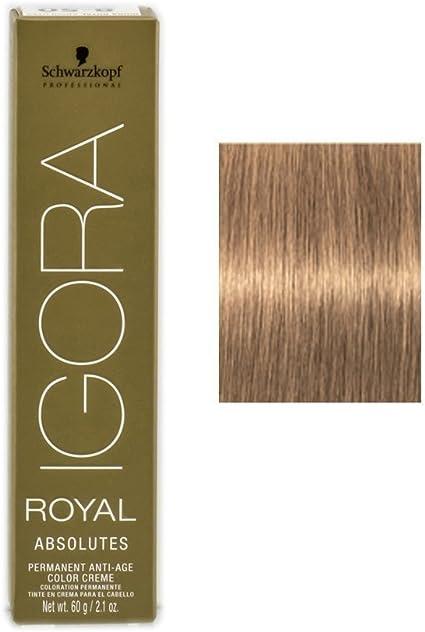 Schwarzkopf Professional Igora Royal Absolutes Hair Color - 8-50 Light Blonde Gold Natural by Schwarzkopf Professional