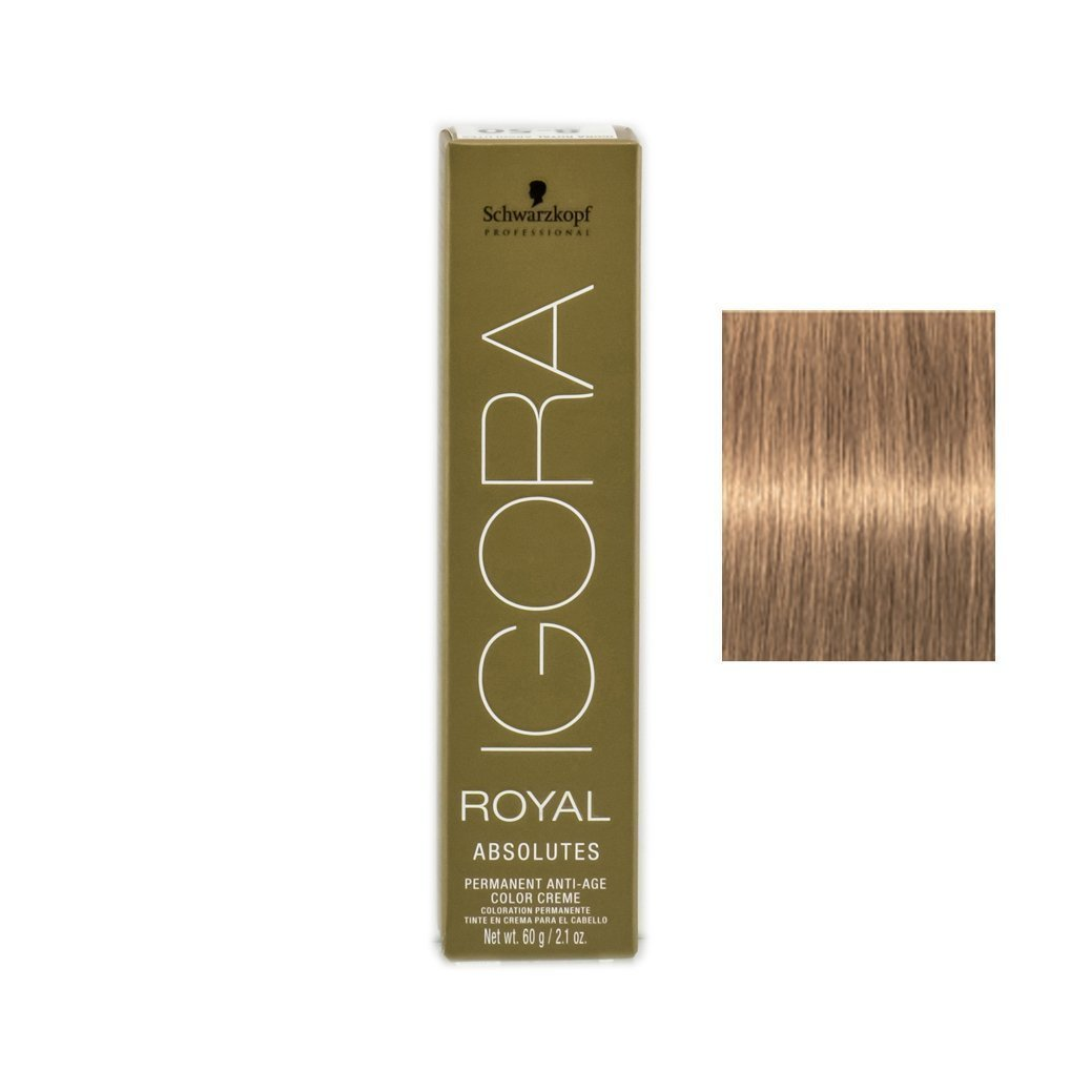 741d36b803 Amazon.com : Schwarzkopf Professional Igora Royal Absolutes Hair Color,  8-50, Light Blonde Gold Natural, 2.1 Ounce : Chemical Hair Dyes : Beauty