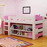 Lollipop Mid Sleeper Bed Finish: White / Pink by Home Essence