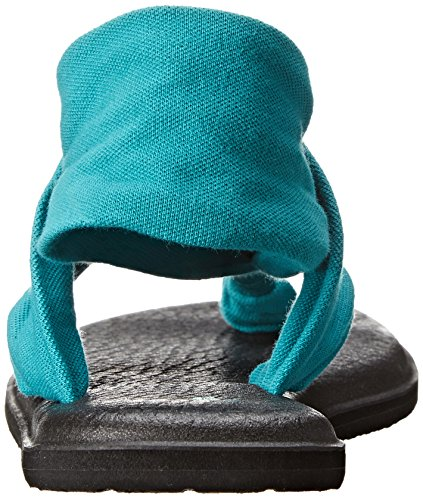 Sanuk Yoga Shoes Amazon: Sanuk Women's Yoga Sling 2 Flip Flop, Teal, 8 M US