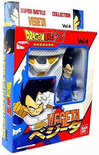 Dragonball Z Bandai Japanese Super Battle Collection Action Figure Vol. 4 Vegeta by Dragonball Z Super Battle Collection