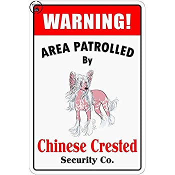 "*Aluminum* Warning Area Patrolled By Corgi 8/""X12/"" Metal Novelty Sign"