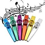 Metal Kazoos Musical Instruments Flutes Diaphragm