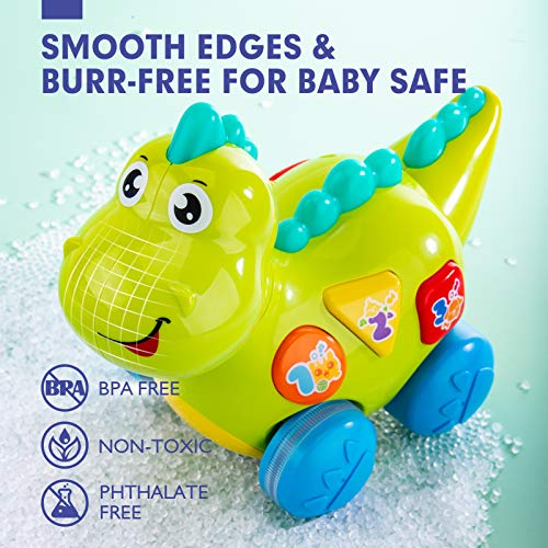 Baby Toys 6 to 12 Months Musical Dinosaur Learning Baby ...